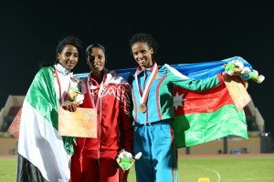 Congrats to Betty for a silver and Bronze in the Islamic Games.